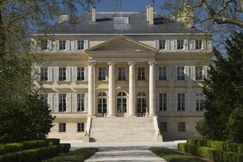 Pretty as a Picture: Château Margaux on a Sunny Spring Afternoon