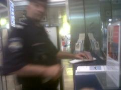 A nice Croatian policeman