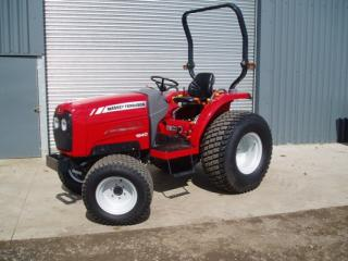 a small tractor